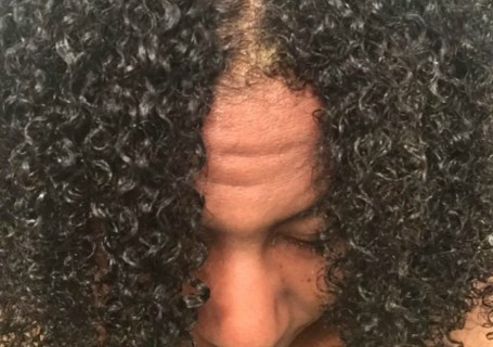 shingling fine natural hair