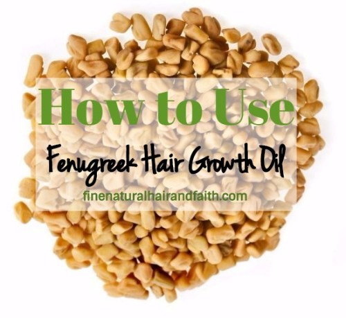 how to use fenugreek hair oil