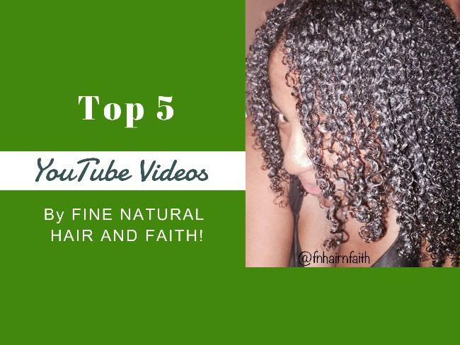 fine natural hair videos
