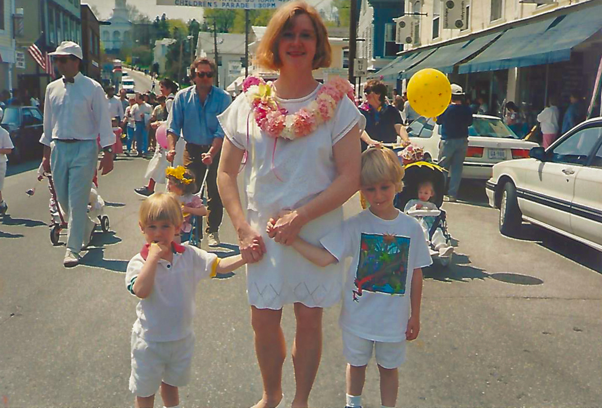 Community involvement - Mayday Festival 1994 - Downtown Mystic