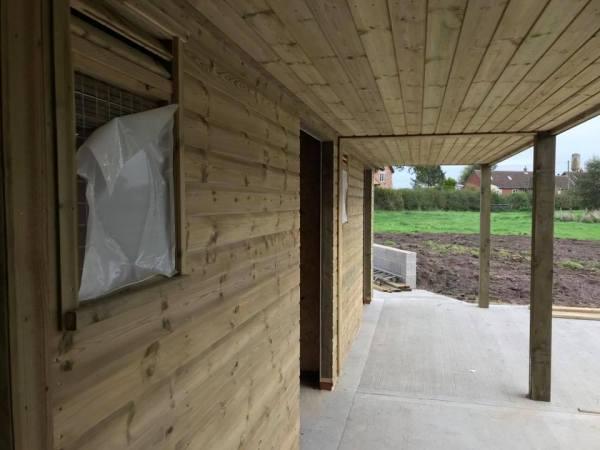 L Block Shiplap Timber