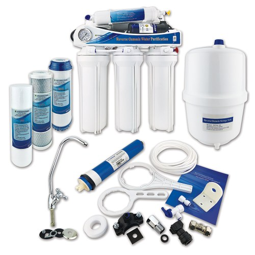 Finerfilters 5 Stage Domestic Pumped Reverse Osmosis System (50 GPD)