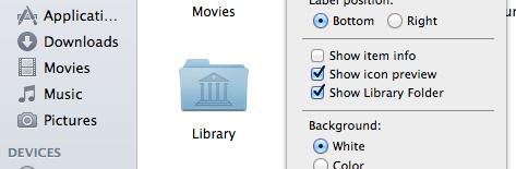 Mavs show library folder