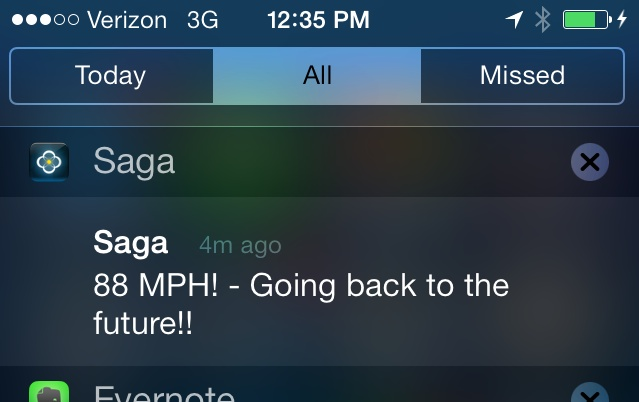 Saga Back to the Future easter egg