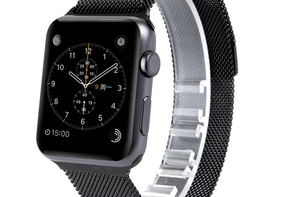 Quick Review: Third-party black Milanese Loop band for Apple Watch