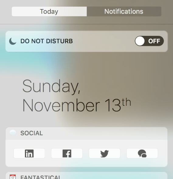 today-page-social-widget