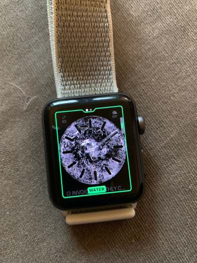 watchOS 5 water face