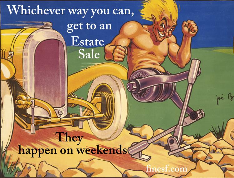 San Francisco Bay Area Estate Sales Advertising Graphic 22