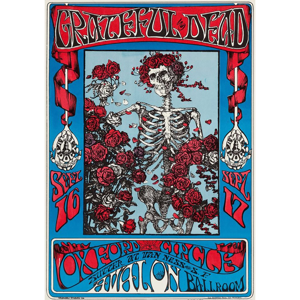 Sixties Rock Poster Collection Sold For $75,000.00