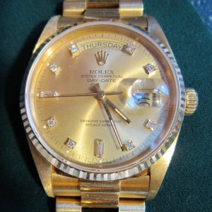 Vintage Rolex Watch Sold sold by fine estate