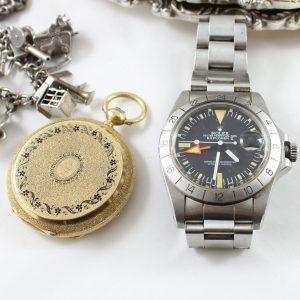 Rolex Explorer and Locket