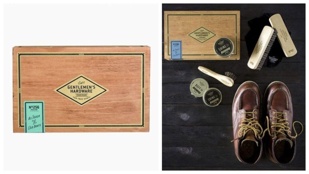 inflyttningspresenterna Presenttips till honom: Gentlemen's Hardware, Skoputsset