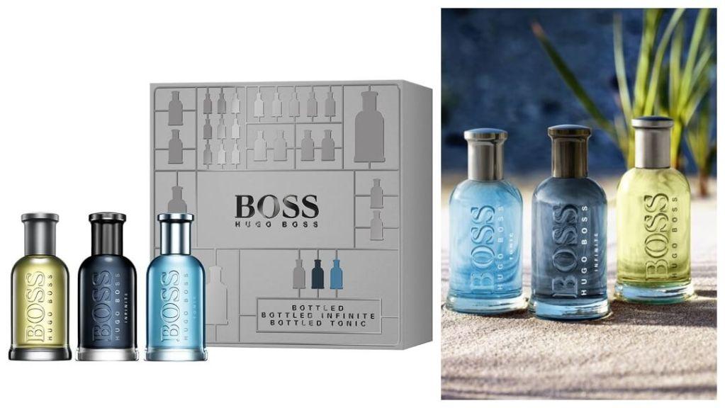 julklapptips till pojkvännen: Boss Bottled Trio från Hugo Boss