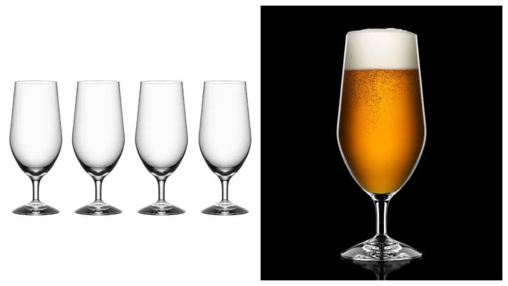 Gavetips til han - Orrefors ølglass