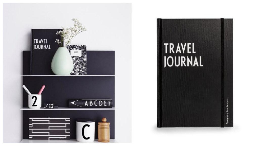 30 års present: Design letter resedagbok