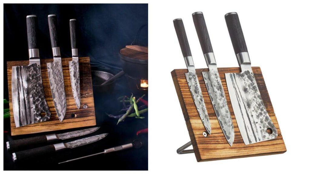 Presenttips till 50-åringen: Magnetiskt knivblock Satake