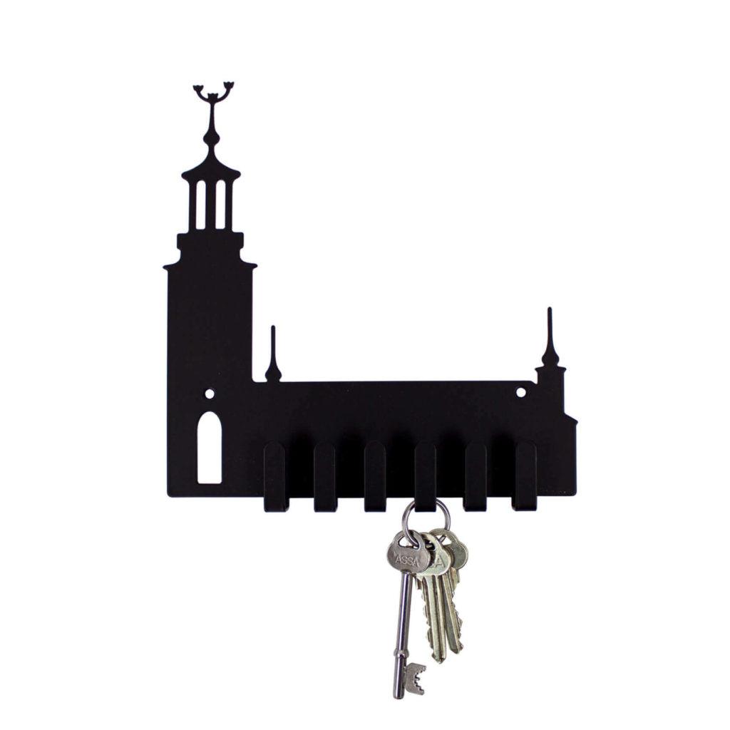Presenttips till föräldrar: Nyckelhängare 'Krok' i Stockholm design