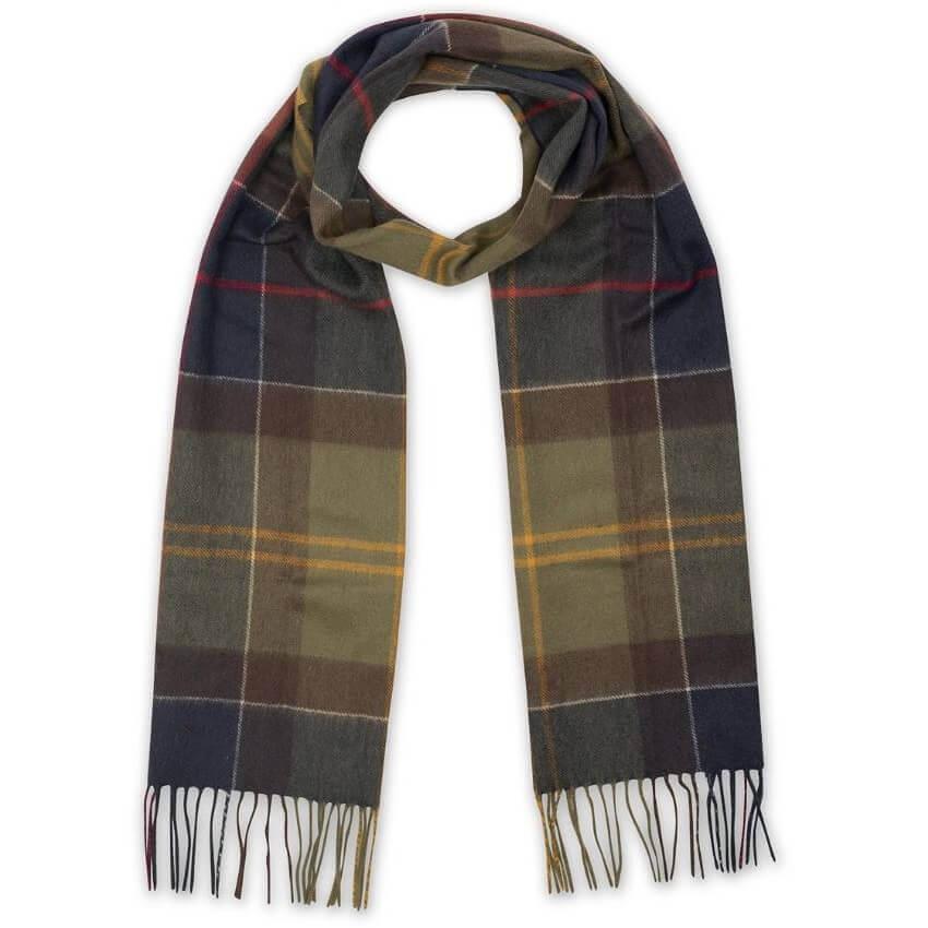 Romantisk present i vinterns tecken: barbour lifestyle cashmere halsduk