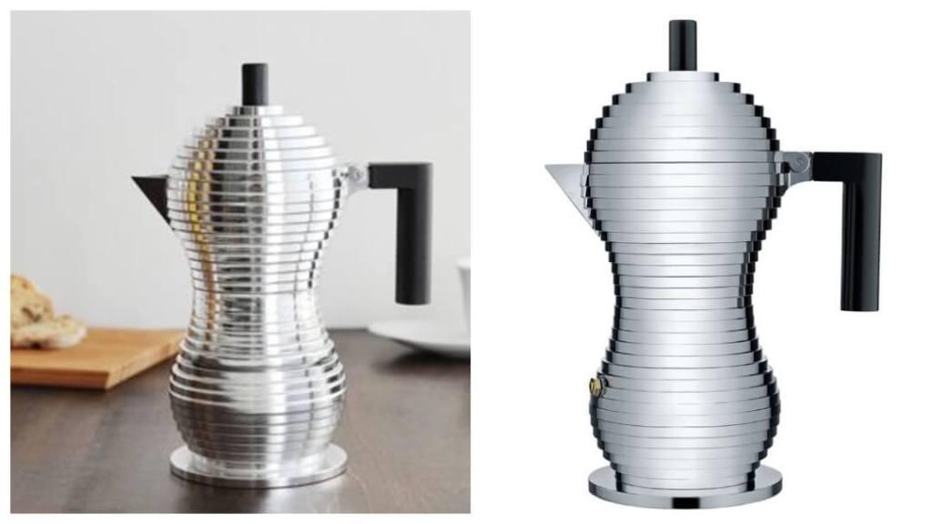 Pulcina kaffebrygger fra Alessi - Gavetips til farsdagen