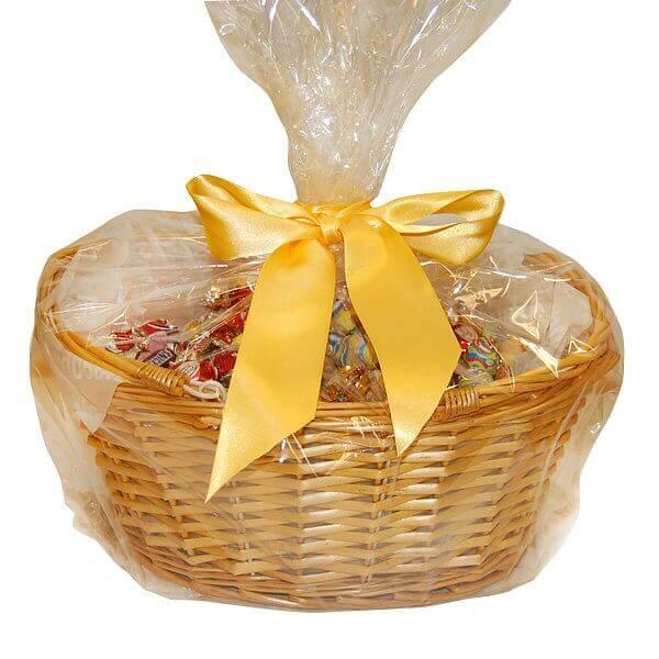 Presentkorg 5 kilo choklad