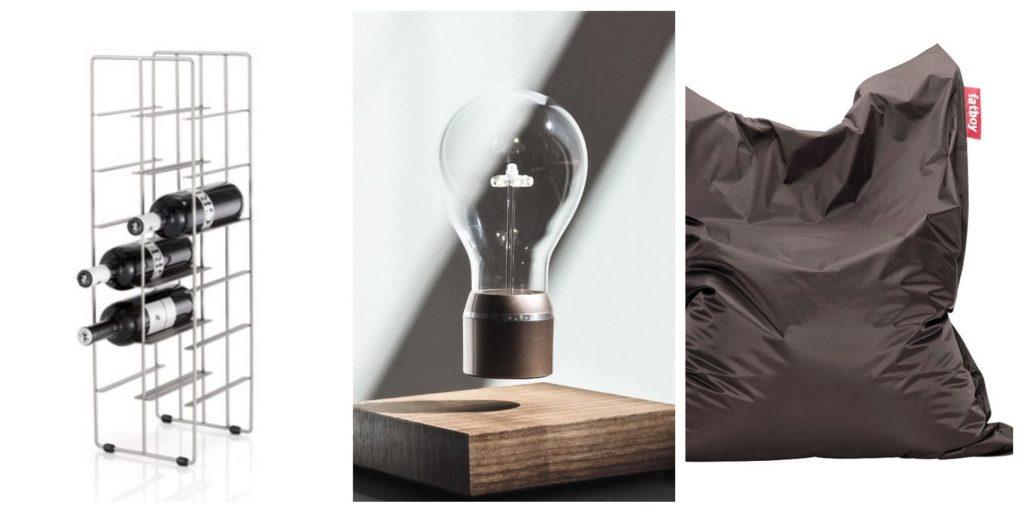 Fineshelf Kollage: Tre presenttips till man