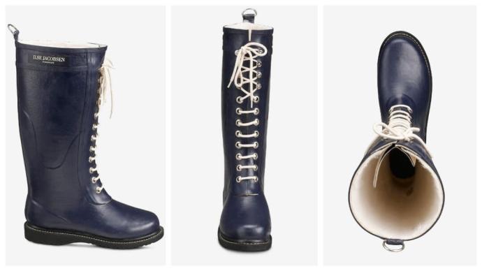 Gaveidé: forede gummistøvler fra Ilse Jacobsen