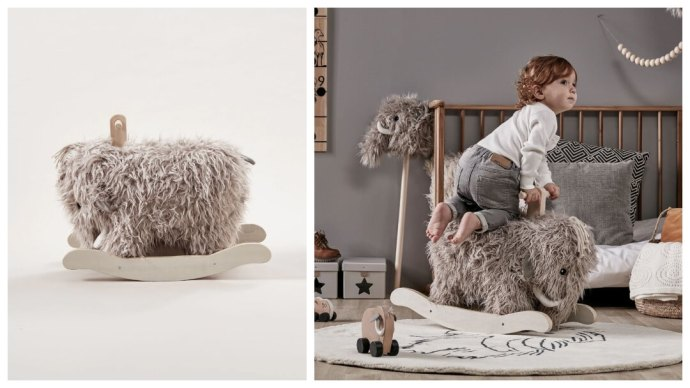 Gaveidé: Neo Mammut gyngehest fra Kids Concept