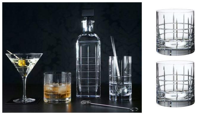 Gavetips til 30-årsdagen: Orrefors Street whiskeyglass