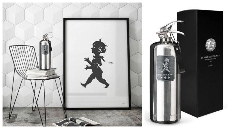 Gavetips til pappa:  Brannslukningsapparat Design Edition  fra Solstickan
