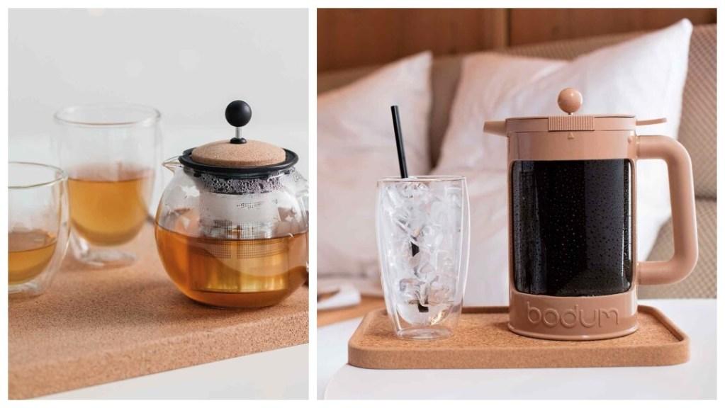 Årets ideer til bryllupsgave: Pavina glass med doble vegger fra Bodum