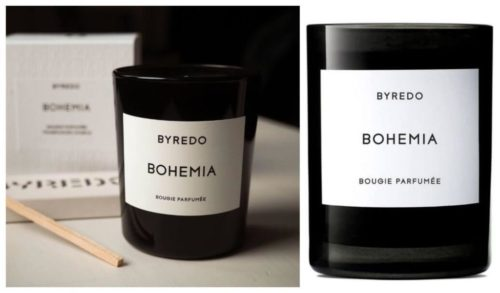 Gaveidé til henne: Bohemia duftlys fra Byredo