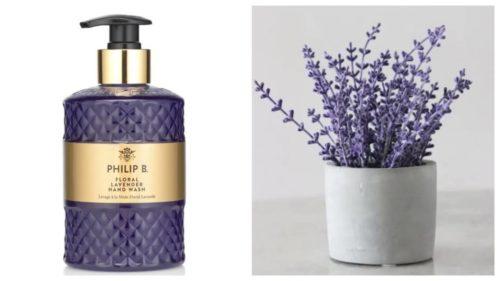 Floral Lavendel håndsåpe fra Philip B - Gavetips til bryllupsdagen
