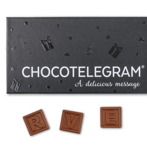 Choklad Meddelande - 20 Bokstäver