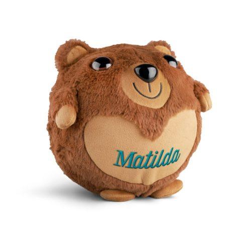 Teddybjörn med namn - Uppblåsbar