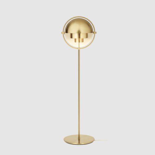 Multi-Lite Gulvlampe Brass/Brass