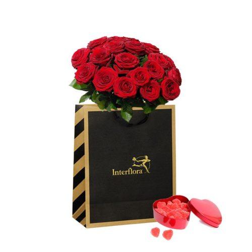 Blomsterkasse – Extra romantisk