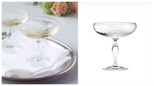 Regina champagneglass fra Holmegaard - Gavetips til 50-årsdagen