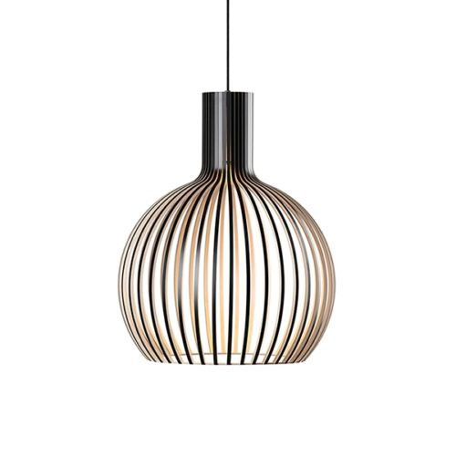 Secto Octo 4241 Taklampe Sort