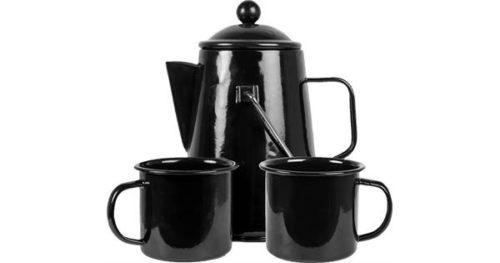Espegard Emaljert kaffesett