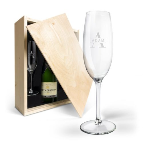 Skräddarsydd champagnelåda
