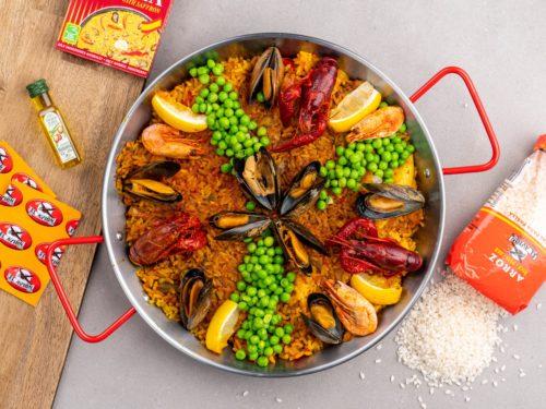 Tips til studentgave - Paella-Sett