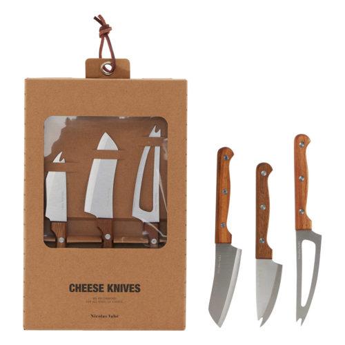 Ostekniver (3 Stk)