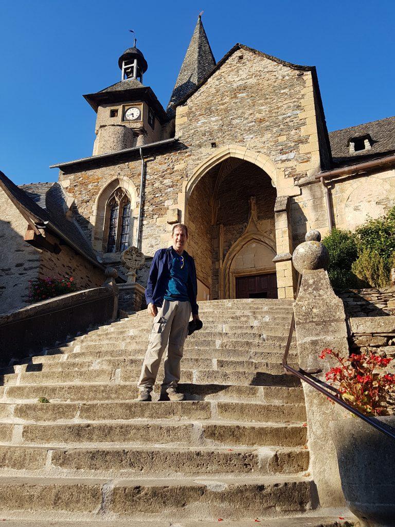 Estaing church