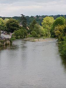 Lot river, Figeac