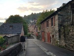 Conques street
