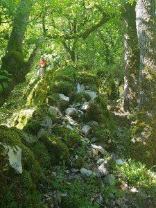 climbing from Espagnac