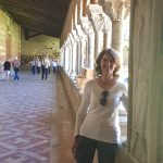 me in the cloister