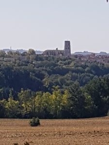 Lectoure view