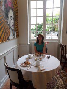 breakfast in Lectoure