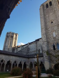 above cloister